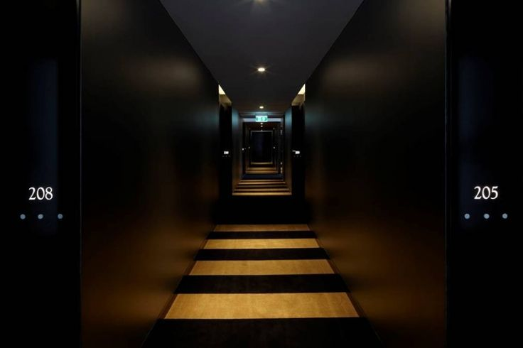 Hotel Corridor! Wowzer