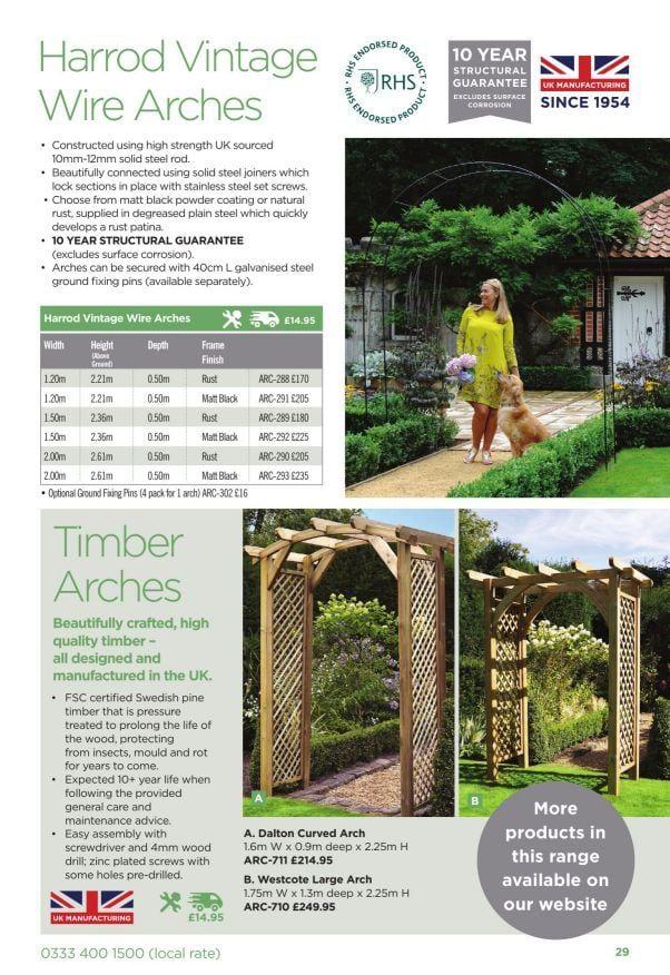 Harrod Horticultural 2019 Catalogue In 2020 Natural Supplies Harrods Outdoor