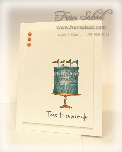 Best Cards Time To Celebrate Images On   Stamping Up