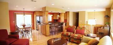 130 best images about raised ranch redo on pinterest for Split foyer kitchen ideas
