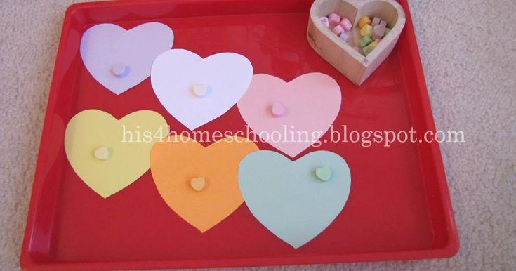 Valentine Tot Trays