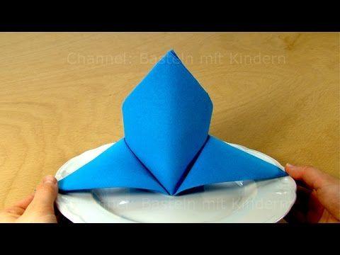 M s de 25 ideas incre bles sobre doblar servilletas de - Origami con servilletas ...