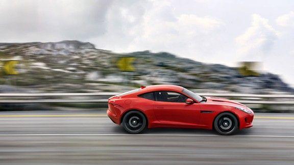 Jaguar F-Type R Coupe #wallpaper #jaguar #ftype #coupe #car #araba #red