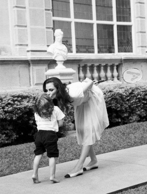 little boy & mama