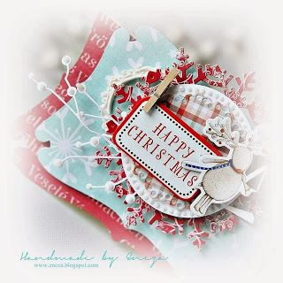 Cards by Encza / Christmas time paper collection by P13
