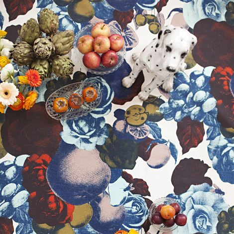 Boudoir fabric from Lisa Bengtsson