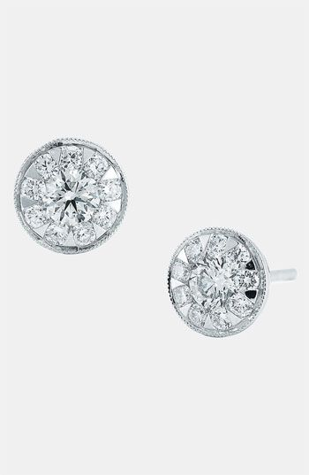 The Diamonds Radiate Out Like A Flower Kwiat Sunburst Diamond Stud Earrings Available At Nordstrom My Style Pinterest Jewelry