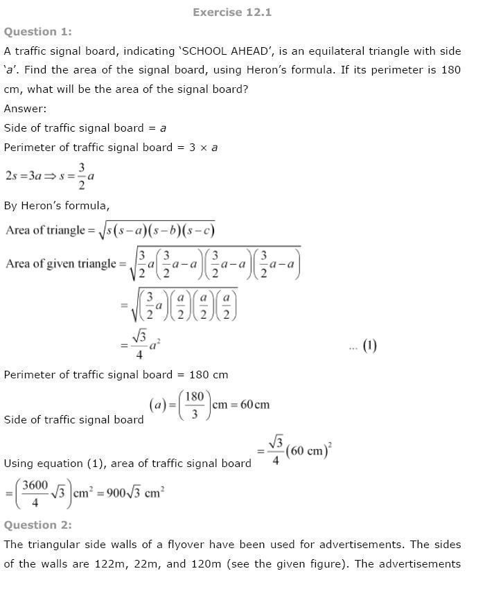 Explanation of Heron's Formula. #precalculus #math | Maths ...