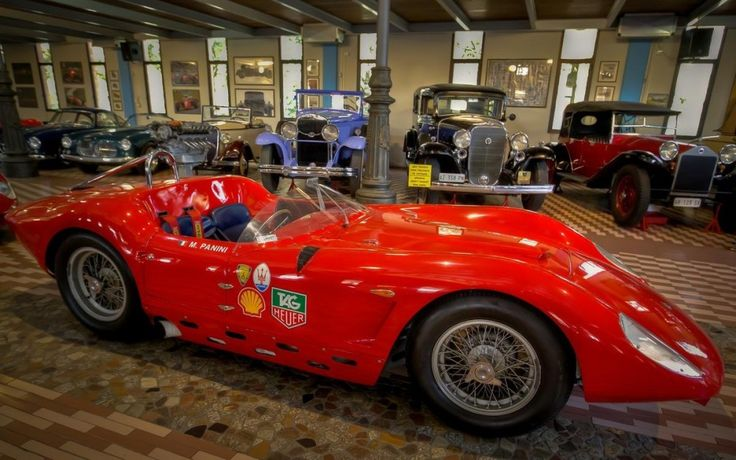 """""""Maserati's 100 years anniversary: the cars collection of museo Panini"""" by @1step2theleft"""