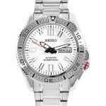Seiko SKZ323 Superior Stainless Steel White Dial Automatic Dive Men's Watch