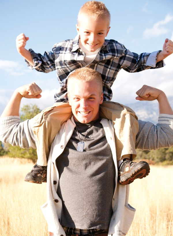 @ajrevels87 Such a cute father/son shot from a family shoot