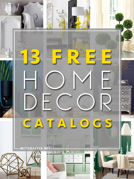 Free Home Decor Catalogs, the links take you directly to the catalog request forms!