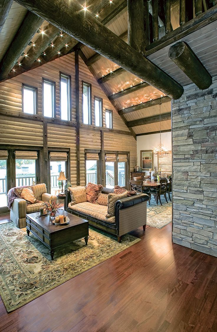 Top 60 best log cabin interior design ideas mountain retreat homes livingrooms woods fireplaces stones window lodges from kitchens to living rooms
