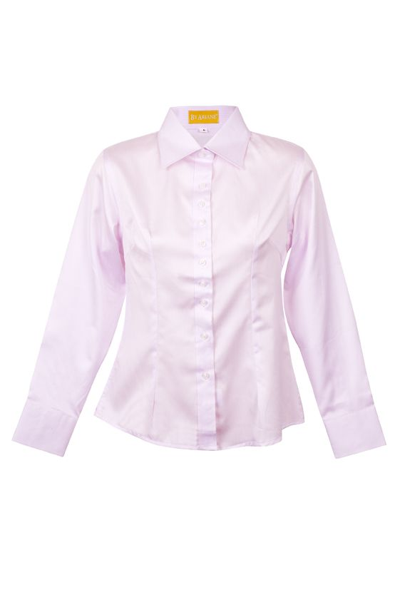 By Ariane's Blush Stripe shirt is a polished yet youthful suiting option. The whisper pink pattern perfectly accents careful tailoring, including darts for shaping and buttons strategically placed to prevent gaping at the bust. Two-button cuffs cap off the look with an unexpected dash of charm.  http://www.byariane.com.au/DesignsByAriane-pink-stripe