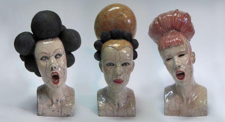 MÉLANIE BOURGET Contemporary Ceramic Sculptures raku