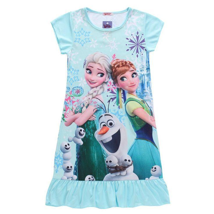 $5.11 (Buy here: https://alitems.com/g/1e8d114494ebda23ff8b16525dc3e8/?i=5&ulp=https%3A%2F%2Fwww.aliexpress.com%2Fitem%2F2015-Fever-elsa-girls-Christmas-dress-Cosplay-Costume-snow-queen-anna-Dress-Kids-party-dresses-fantasia%2F32636586678.html ) Elsa Dress Snow Queen Kids Summer Cartoon Anna Flounced Dresses For Girls Party Princess Cinderella Costume Children's Clothes for just $5.11