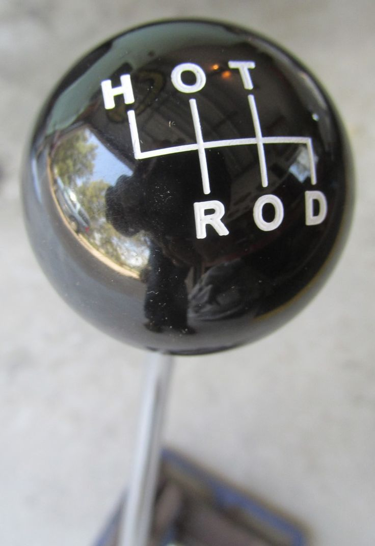 HouseOspeed - Hot Rod Shift Knob - HOT ROD Shift Pattern H-O-T-R-O-D Shift Knob, $38.00 (http://www.hotrodshiftknob.com/hot-rod-shift-pattern-h-o-t-r-o-d-shift-knob/)