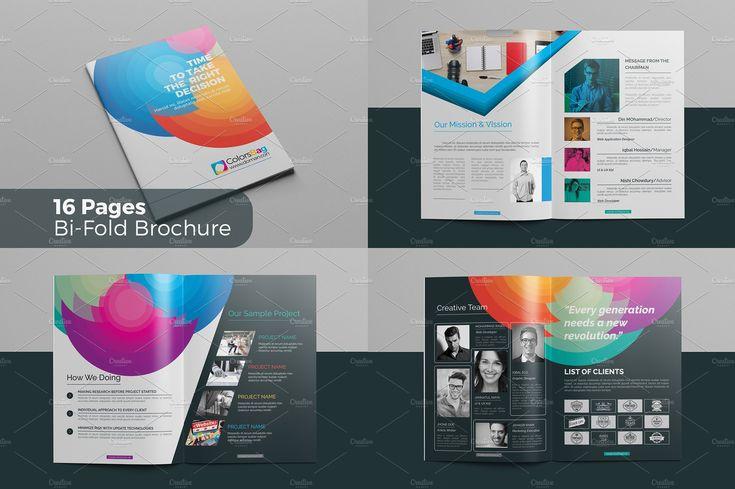 Brochure by Cristal Pioneer on @creativemarket