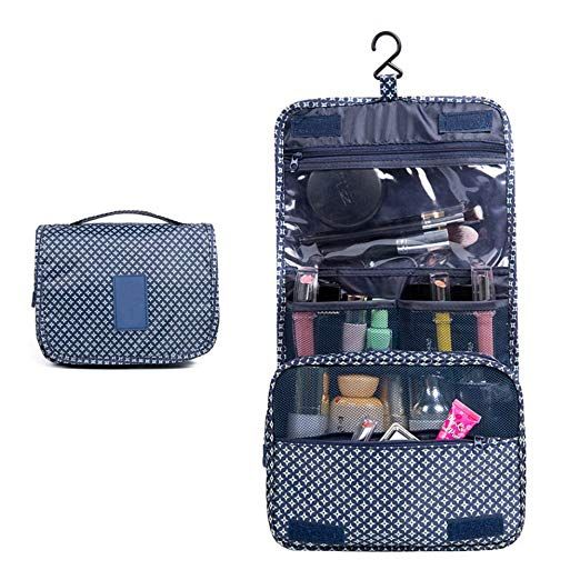 Portable Hanging Travel Toiletry Bag Large Versatile Nylon Hanging Toiletry  Organizer Men s and Women s Makeup Sets 196b6a869d