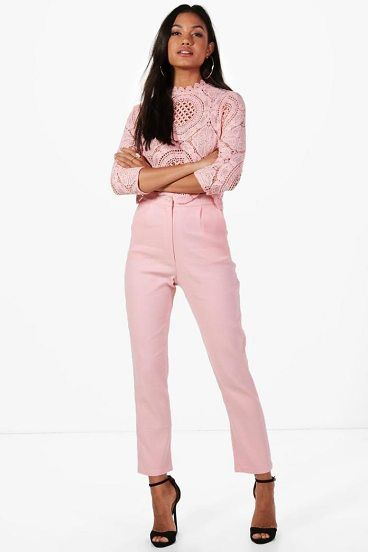 Boutique Taylor Crop & Trouser Co-ord Set by Boohoo. Dresses are the most-wanted wardrobe item for day-to-night dressing. From cool-tone whites to block brights, we've got the everyday skater dresses and party-ready bodycon styles that are perfect for transitioning from day to play. Minis,... #boohoo #dresses