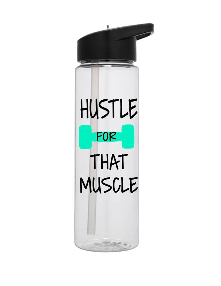 Personalized water bottles, Custom water bottle, Fitness water bottle, Working out bottle, Never give up, Muscle water bottle by DrinkBliss on Etsy https://www.etsy.com/listing/488262226/personalized-water-bottles-custom-water