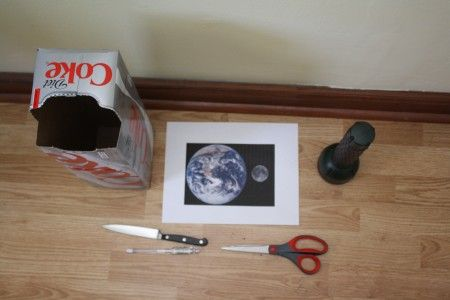 DIY planetary Light Box - No Time For Flash Cards