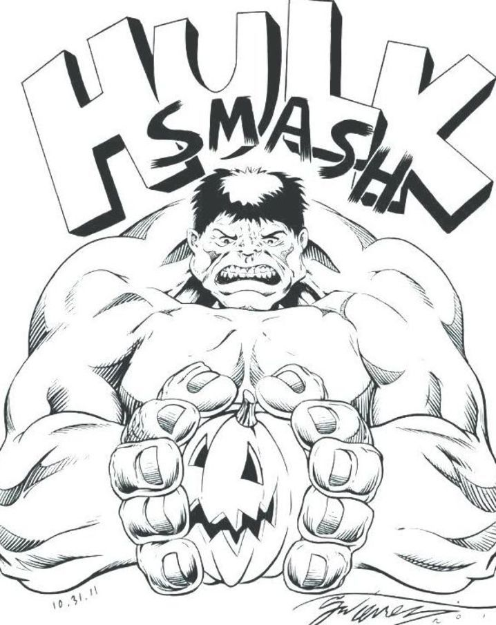 Hulk coloring page | Free Printable Coloring Pages | 905x718
