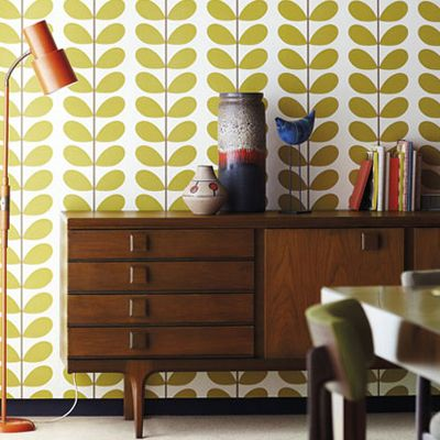 print & pattern: ORLA KIELY - with harlequin