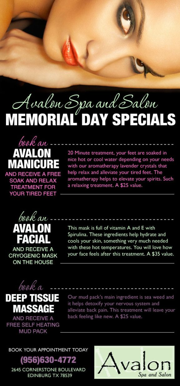 memorial day specials veterans