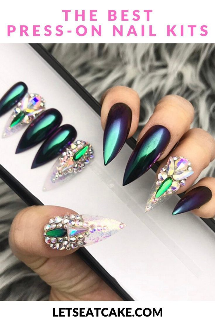 The 6 Best Press On Nails We Think Cardi B Would Approve Of In 2020 Best Press On Nails Press On Nails Manicure At Home
