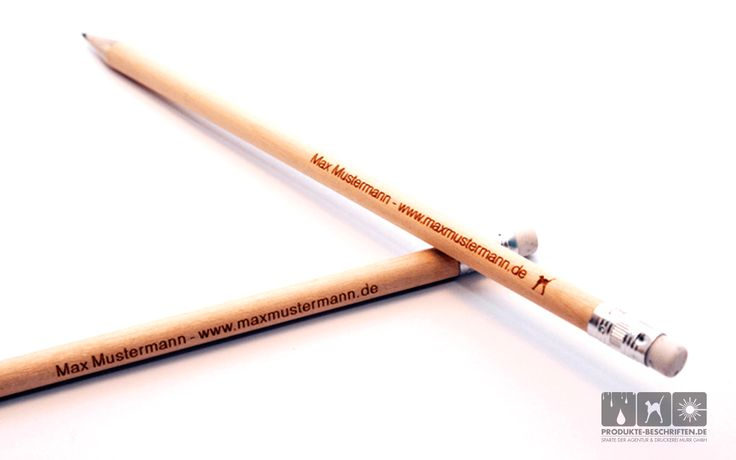 Lasergravur Holz - Bleistifte