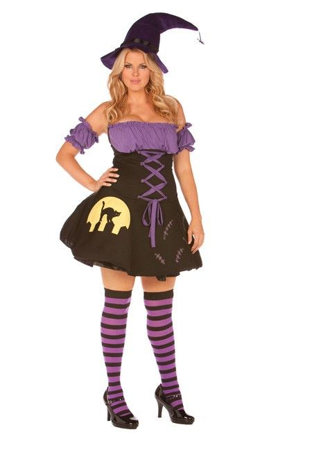 Moonlight Witch Costume Plus Size | £53.37