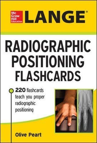 Lange Radiographic Positioning Flashcards (Rad Tech)