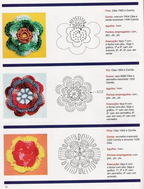 26 besten Granny häkelschriften Bilder auf Pinterest | Blumen ...