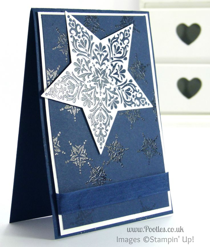 Christmas Card Making Ideas 2014 Part - 27: Bright And Beautiful Star Card For Chaps Perhapsu2026
