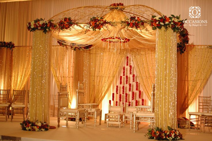 Gazebo Crystal & Fabric | Event Decorators : Occasions By Shangri-la