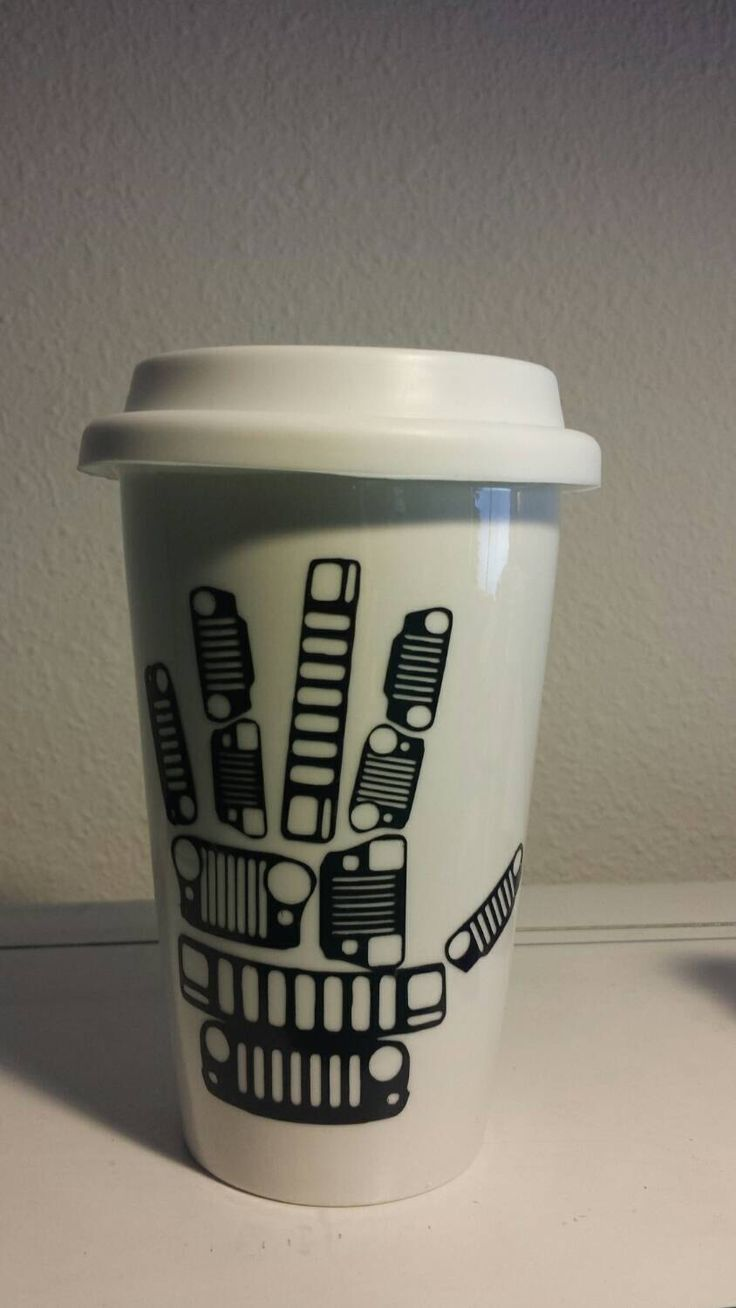 Jeep Wave Grills Mug by NerfherderCreations on Etsy https://www.etsy.com/listing/215644705/jeep-wave-grills-mug