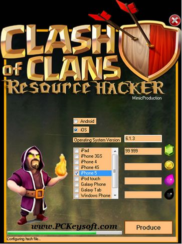 Today in this post PCkeysoft Team going to introduce amazing apk. Clash Of Clans Hack Tool No Survey No Password. You can use for hacking clash of clans.