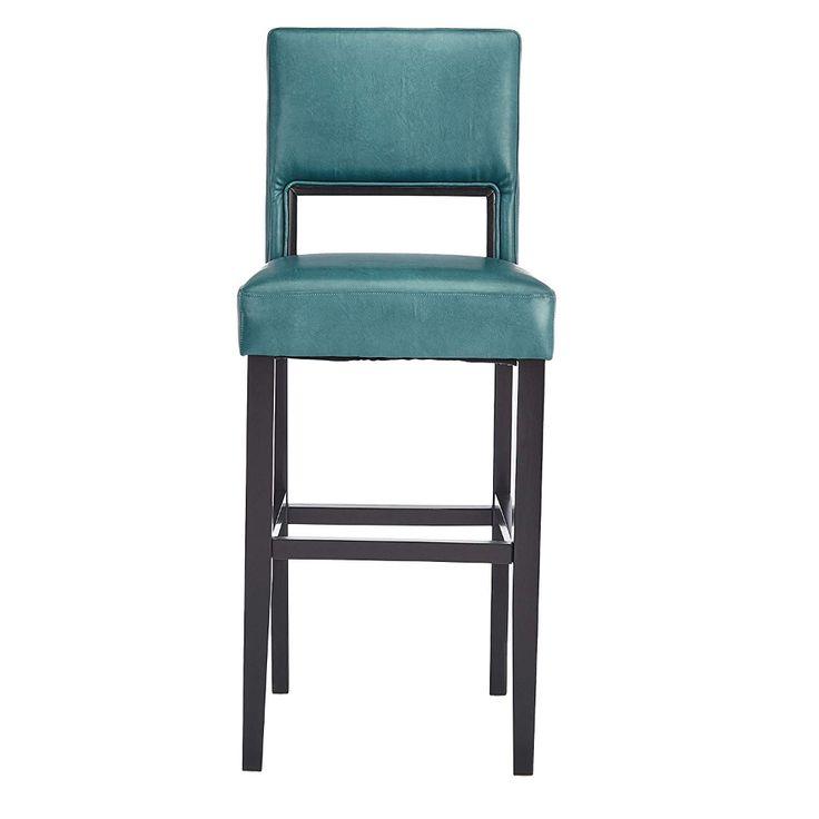 amazon red hook ws5492 linon vega bar stool aegean