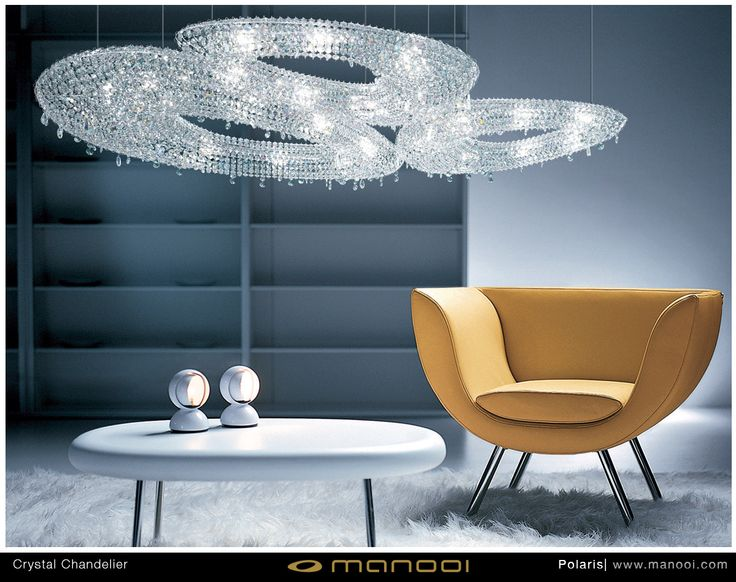 Polaris crystal chandelier #Manooi #Chandelier #CrystalChandelier #Design #Lighting #Rio #luxury #furniture #interior