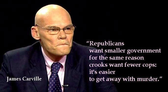   James Carville with a bit of topical wisdom - Democratic Underground