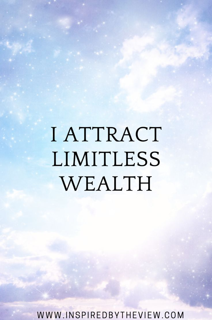 I attract wealth #affirmations #quotes #wealth #health #abundance #energy #light #lawofattraction