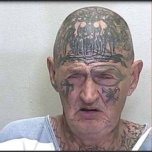Bilderesultat for wtf tattoo in head