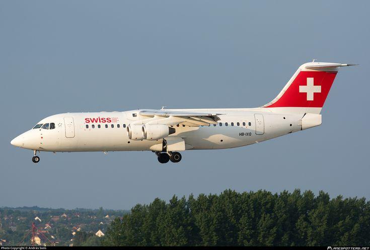 HB-IXQ Swiss British Aerospace Avro RJ100
