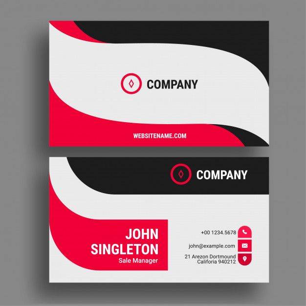 Business Card With Images Business Cards Creative Name Card