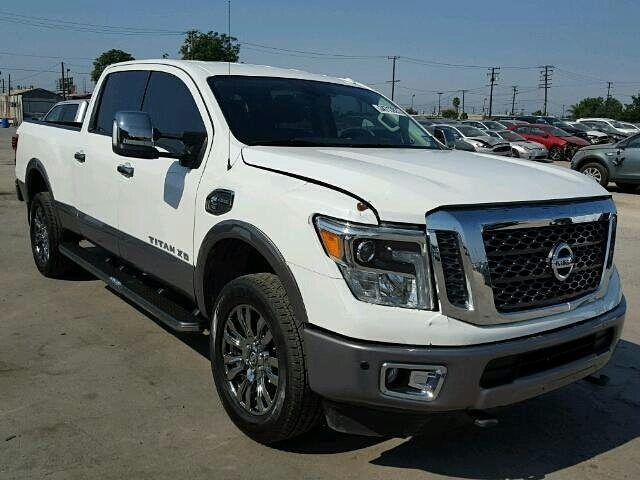 #salvage 2017 #nissan #titan #4x4 www.bidgodrive.com #pickup #truck #worktruck #awd #onsale #forsale #bid #buy #win #auction #farm #tow #diesel #nismo #xd #platinum