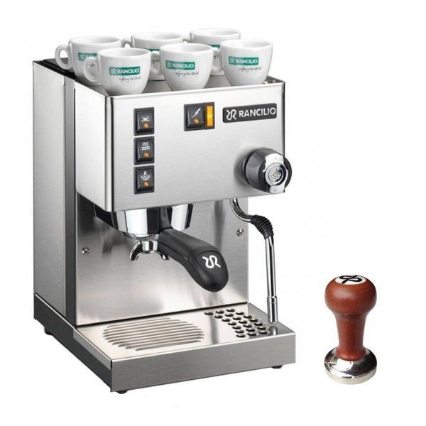 Rancilio Silvia With Free Rosewood Handle Tamper