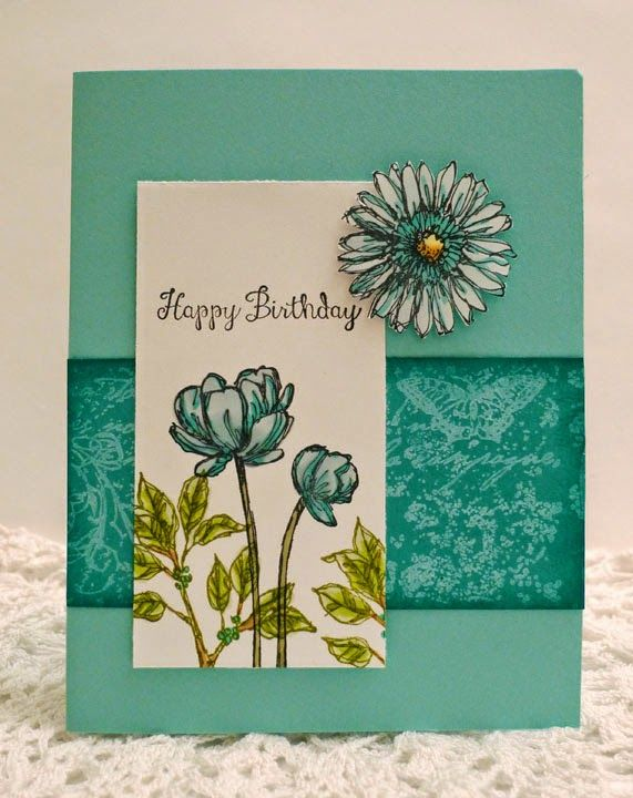 Stampin' Up! Bloom With Hope handmade birthday card
