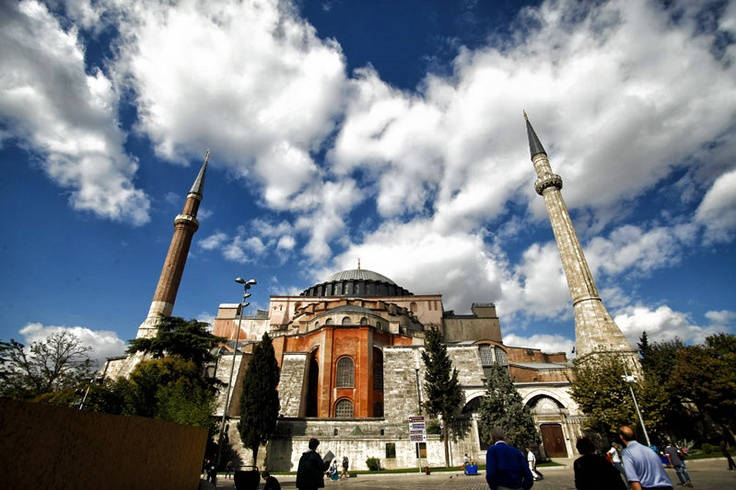 Hagia Sofia, Istanbul. The jewel of byzantine architecture.