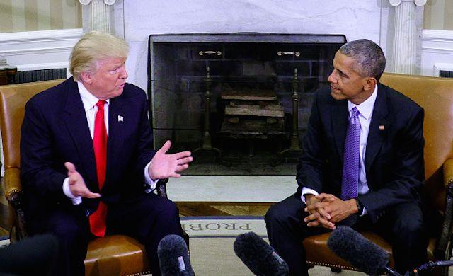 White House press secretary Josh Earnest spoke to reporters today to explain President Obama's opinion on a Donald Trump presidency.